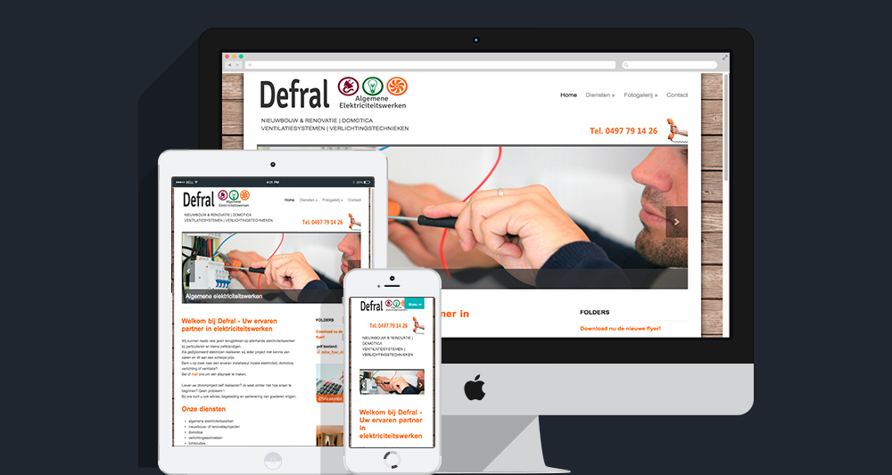 Defral website